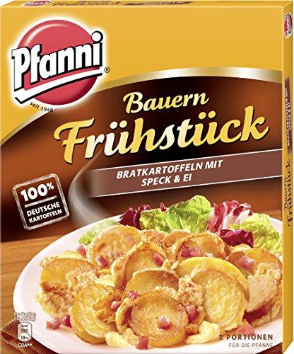 Preisvergleich Produktbild Pfanni Kartoffelfertiggericht Bauern Frühstück Bratkartoffeln,  mit Speck und Ei 2 Portionen