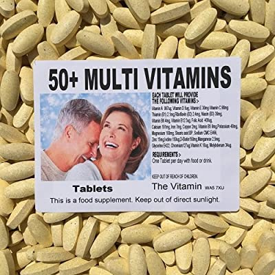 The Vitamin 50+ Multivitamins Plus (360 Tablets - Bagged)