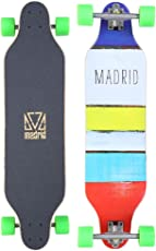 Madrid Longboard Trance & Weezer & Tombstone & Cloud, Drop-Through & Topmount Komplettboard Freeride Cruiser Boards