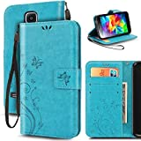 Best Coque Galaxy S5 - Coque Samsung Galaxy S5/S5 NEO,Etui Cuir Galaxy S5/S5 Review