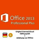 Microsoft® Office 2013 Professional 32 bit & 64 bit Vollversion Original Lizenzschlüssel per Post und E-Mail + Anleitung von TPFNet - Versand maximal 60Min