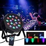 20W Lichteffekt Automatisierte Bühnenbeleuchtung Sprachaktivierte Stage Discolicht LED Par Licht Strahler Ton Steuerung Strahler Partylicht für Disco
