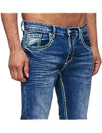 51850212e1bd Suchergebnis auf Amazon.de für  herren jeans grüne naht - Jeanshosen ...