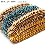 Resistors pack: 0.25W 1/4W 150 values x ...
