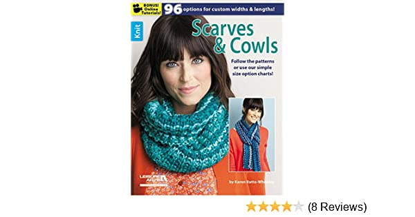 Scarves & Cowls (Knit): Amazon.co.uk: Karen Ratto-Whooley: 0499991633265:  Books