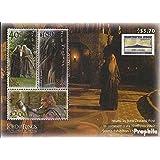 Nueva Zelanda Bloque 137 (completa.edición.) 2002 Sr. el Anillos, NORTHPEX (sellos para los coleccionistas)