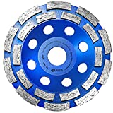 S&R Diamond Grinder Disc / Diamond Cup Wheel/ 125 x 22,2 mm for : Concrete, Marble, Granite, Natural stone