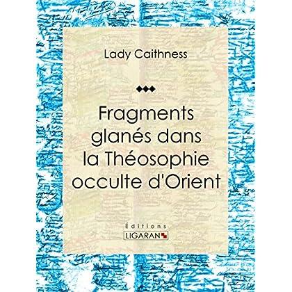 Fragments glanés dans la Théosophie occulte d'Orient: Essai sur les sciences occultes