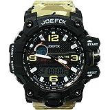 Joefox Orologio Militare Multifunzione Da Polso Elettronico Impermeabile Waterproof 50mt Sportivo Display Con Retroilluminazi