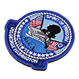 Homyl Epaulettes Washington Aircraft Carrier Style Punk Gothique Militaire Déguisement Accessoires