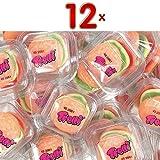 Trolli Burger 12 x 50g Packung (Fruchtgummi als Burger)