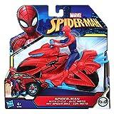 Marvel Spider-Man - Figurine Spider-Man 15 cm et moto- Jouet Spider-Man...