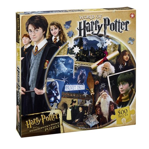 HARRY POTTER - Puzzle de 500 piezas (Winning Moves 22606)