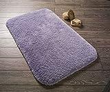 Carpemodo Badteppich Dreams Lilac 80x140 cm / Flieder / mit ANTRON Teppichfasern / hochwertige Qualität / Oeko-Tex Standard