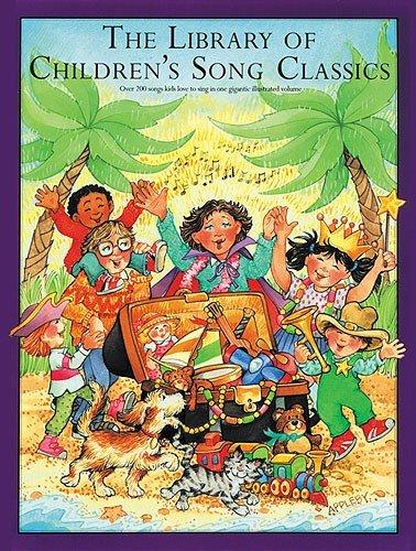 The Library Of Children's Song Classics. Partitions pour Piano, Chant et Guitare(Symboles d'Accords)