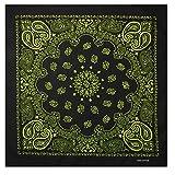 Alex Flittner Designs Bandana mit exclusivem Paisley Muster in schwarz/gelb