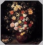 Das Museum Outlet–Stilleben mit eine Blume Bouquet–Leinwanddruck Online (61x 45,7cm)