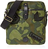Timberland Cross Body Bag, Unisex Adults' Top-Handle Green (Green Camo), 5x33x29 cm...