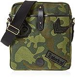 Timberland Cross Body Bag, Unisex Adults' Top-Handle Green (Green Camo), 5x33x29 cm...