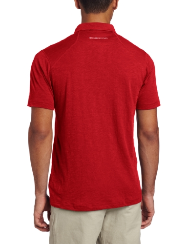 exofficio Herren EXO Java Tech Polo Short Sleeve Shirt Hydrant