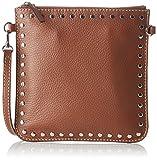 LoxwoodPochette Floppy Cuir Cloute - bolso de mano Mujer , marrón (Marrón (Sahara)), 0.5x22x22 cm (W x H x L)