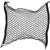 Red de malla elástica universal para maletero, ideal para organizar y mantener sujeto el equipaje