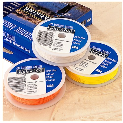 y Line Dacron Backing, orange, 20 #/100 yd ()