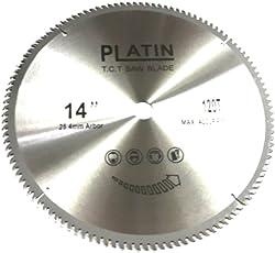 "Toolscentre 14"" TCT Blade For Aluminium & Wood Cutting."