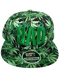 Tweed Newsboy Cap Baker Boy Flat Check Grandad Hat Elasticated Free Size ·  £13.99 · King Ice Cannabis Marijuana Weed Leaf Flat Peak Snapback Caps e7348c1b588c