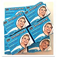 Nasal Strips.100 Piece in 10 Box Transparent Large Size Nasal Strips (66 * 19 mm).