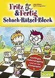Produkt-Bild: Fritz & Fertig - Schach-Rätsel-Block: KniffligesGehirnjoggingrundumdasKönigsspiel (Fritz & Fertig/Schach lernen)