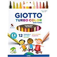GIOTTO TURBO COLOR SKIN TONES - 12 colori della pelle