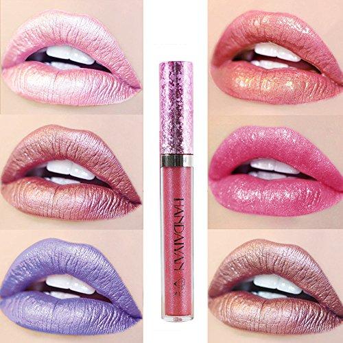 Pintalabios Mate Labial de Maquillaje Profesional Larga Duracion 6 Colores para...