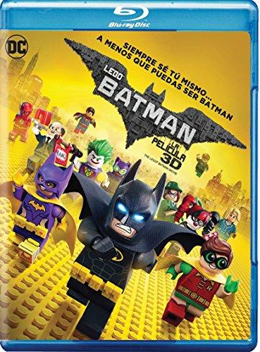 Lego Batman 3D Movie (Blu-ray 3D + Blu-ray + Digital Copy) Audio & Subtitles: English, Spanish, French & Portuguese - IMPORT