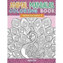 Animal Mandalas Coloring Book | Children Fun Edition 8