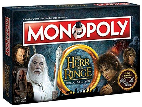 Winning Moves Monopoly Herr der Ringe Edition - der Kampf Um Mittelerde | Gesellschaftsspiel | (Deutsch)