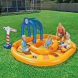 Limiz Kinderbecken Aufblasbarer Ozean Ball Pool Baby Planschbecken Verdicken Sand Pool Gelb 2-4 Personen