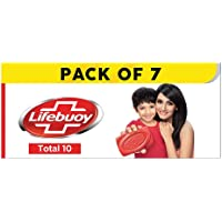 Lifebuoy Total10 Germ Protection Bathing Soap, Protects Your Skin From Viruses & Other Harmful Germs Using Activ Silver…