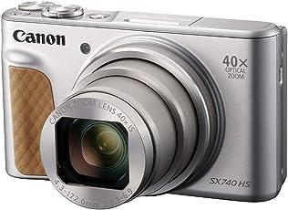 Canon Powershot SX740 HS Travel Kit Zilver