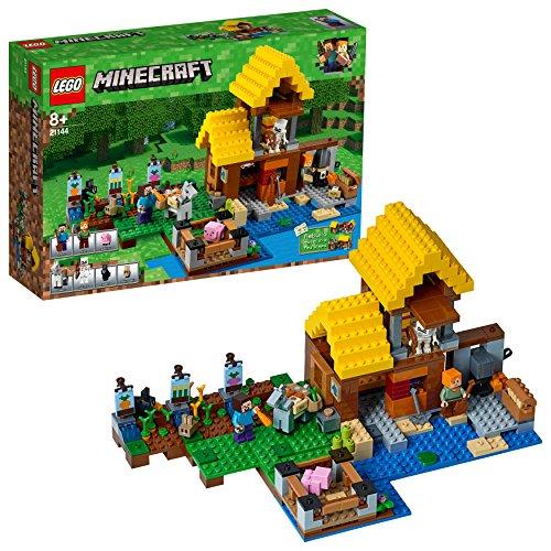 Lego Minecraft 21144 - Farmhäuschen - Spielzeug-bauernhof-gebäude