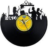 Regalo Parrucchiera regalo inaugurazione parrucchiera regalo apertura salone orologio negozio orologio in vinile made in ital
