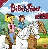 Bibi und Tina - Broschurkalender - Kalender 2019 - Heye-Verlag - Wandkalender - 29,5 cm x 30 cm (offen 29,5 cm x 60 cm)
