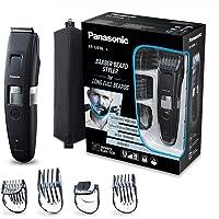 Panasonic ER-GB96-K503 Tondeuse barbe et cheveux avec lames en forme de peigne, 58 longueurs de coupe, tailles de barbe…