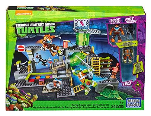 Mattel Mega Bloks DMX55 - Teenage Mutant Ninja Turtles Geheimversteck