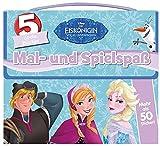 Disney Die Eiskönigin: Mal- und Spielspaß: 5 coole Bücher und mehr als 50 Sticker in einer Box