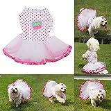 molie Prinzessin Kleid für Haustier Hund Katze,S,M,L,XL,XXL (S)
