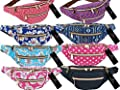 Canvas Travel Bumbag 5 POCKETS Up To 50 Inch Waist Bum Money Belt Bag Bumbags QL415M