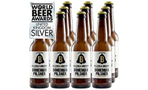 Bellfield Brewery: Bohemian Pilsner (12x330ml gluten-free beer)