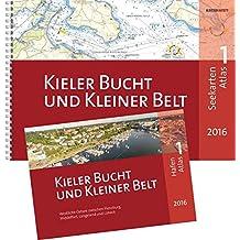 SeeKarten Atlas 1 | Kieler Bucht und Kleiner Belt: Westliche Ostsee zwischen Flensburg, Middelfart, Langeland und Lübeck