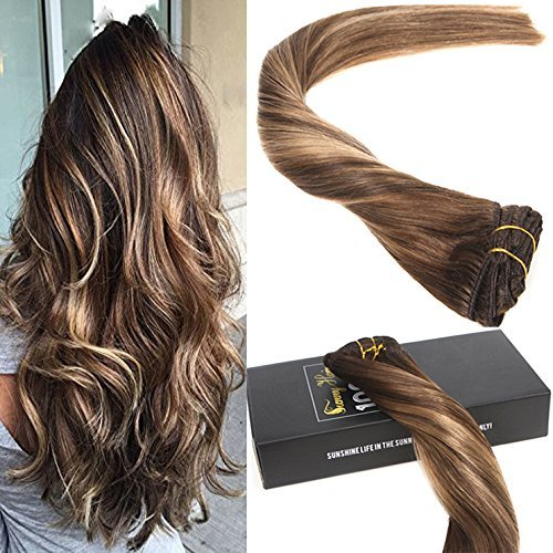Sunny dip and dye clip in extension capelli umani 16
